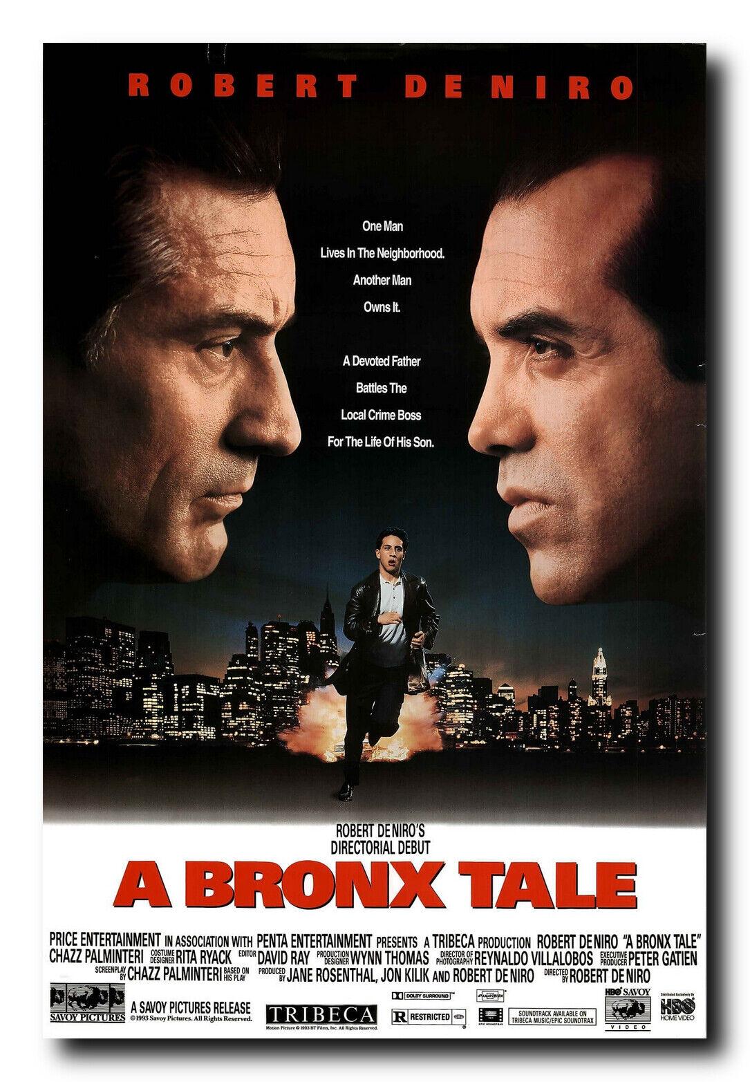 A Bronx Tale Movie Poster 24x36 Inch Wall Art Portrait Print