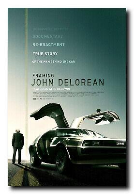 Framing John Delorean Movie Poster 24x36 Inch Wall Art Portr