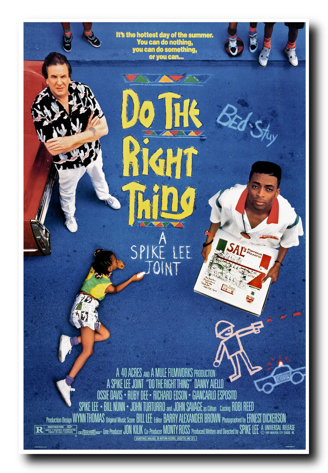 Do The Right Thing Movie Poster 24x36 Inches Ready To Frame