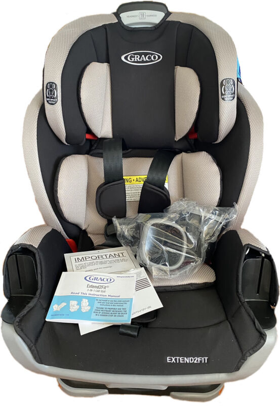 Graco Extend2Fit 3-in-1 Car Seat Stocklyn New Open Box