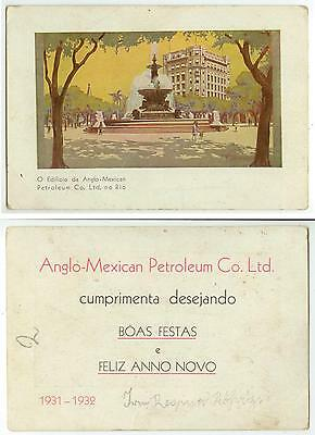 1931 Anglo Mexican Petroleum Co Ltd Trade Card
