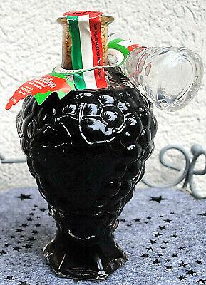 """Ital. Rotwein """"Bardolino""""..Schmuckflasche -Traube + Glasverschluß...0,5 l....NEU"""