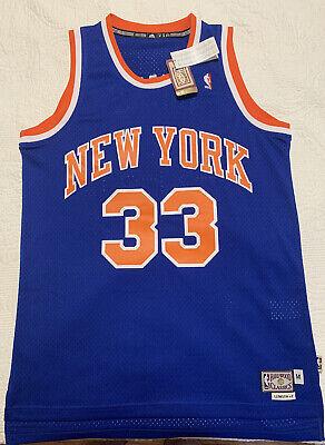 Patrick Ewing NY Knicks Adidas NBA Hardwood Classics Swingman Jersey MENS M NEW!