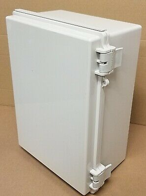 Hi Box 9x13x6 Electrical Enclosure Hinged Junction Box Abs
