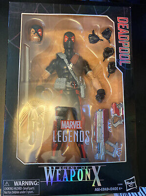 Marvel Legends Deadpool 12 inch Agent Of Weapon X Action Figure Collectible