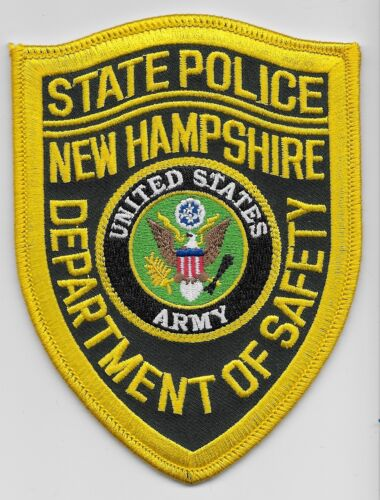 New Hampshire State Police US Army patch NH