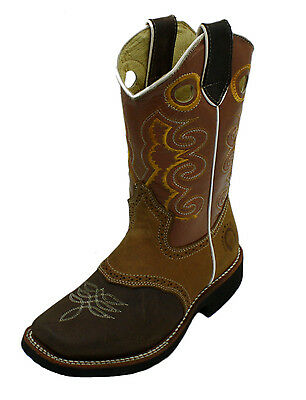 Youth Sizes Kids Genuine Cow Boy Leather Boots Style DB-Youth Boots ()