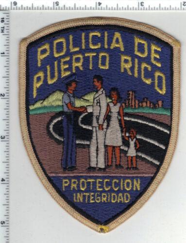Policia de Puerto Rico Proteccion Integridad Shoulder Patch Early 1980