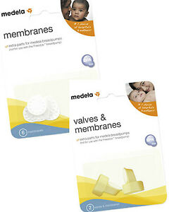 NEW-MEDELA-REPLACEMENT-MEMBRANES-VALVES-MEMBRANE-VALVE