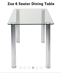 Brand New Zoe 6 seater Dining Table Liverpool Liverpool Area Preview