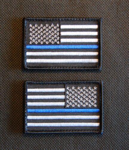 thin blue line union flag patch cops - 432×500