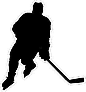 Hockey-Player-1-Decal-Bumper-Sticker