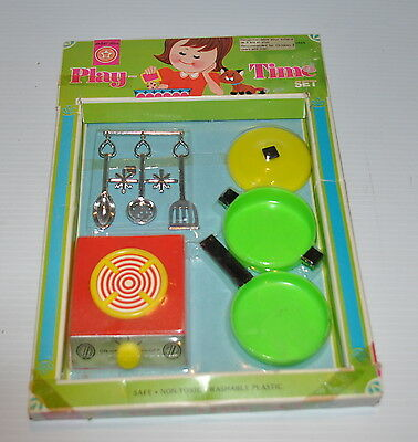 - PLAY TIME Bright Star Play Time Kitchen Toy 1970s Sealed TOY