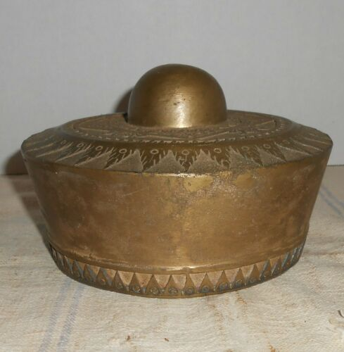 Antq Hand Chased Bronze Kulintang Gong : Indonesia Sumatra Tibet Philippine Old