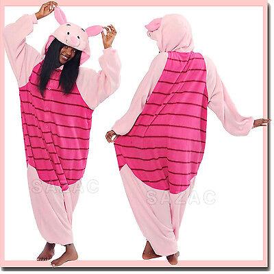 PIGLET KIGURUMI -Adult Costume Sazac Kigurumi Animal Pajama -Ship from USA](Piglet Pajamas)