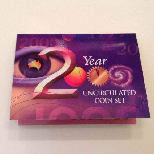 Australia - 2000 Royal Australian Mint 6 Coin Millennium Uncirculated Set