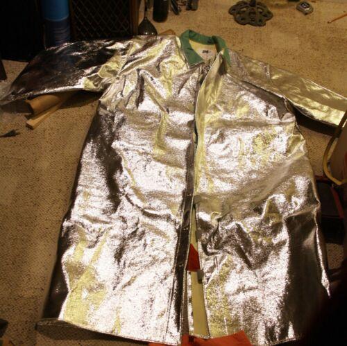 STEEL GRIP Aluminized Jacket,3XL,Thermonol, ATH 1136-50