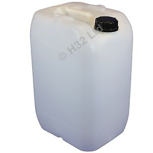 25 Litre Water Container Drum Bottle Food Grade New