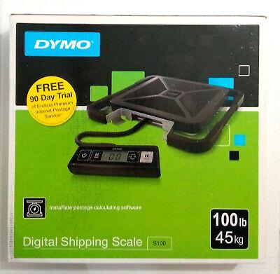 Dymo S100 Digital Usb Shipping Scale - 100 Lb 45 Kg Maximum Weight Capacity