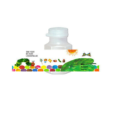 20 The Very Hungry Caterpillar Party Favors Bubbles Labels Treat Loot Gift Bags