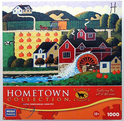 jigsaw puzzle 1000 pcs Pumpkin Sale Autumn Halloween HomeTown Heronim