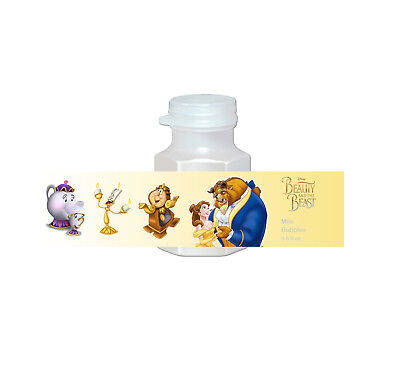20 Beauty and the Beast Party Favors Bubbles Labels Treat Goodie Loot Gift - Beauty And The Beast Party Decorations