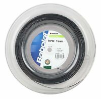Babolat Rpm Team 1.30mm/17 - Tennis String 200m - Black - Free Uk P&p - babolat - ebay.co.uk