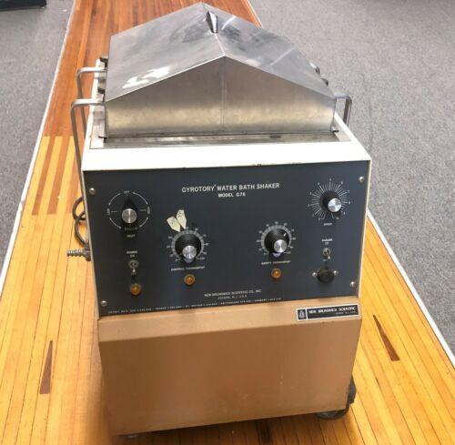 New Brunswick Scientific G76 Gyrotory Water Bath Shaker Heated