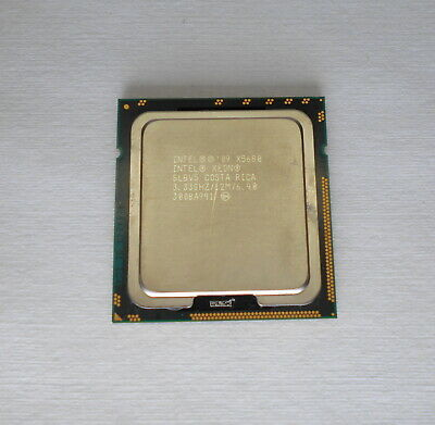 Intel Xeon X5680 SLBV5 3.33GHZ 12MB 6.4 GT/s LGA 1366/Socket B Six-Core CPU