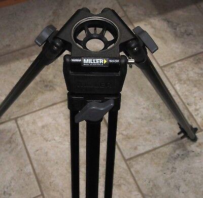 Miller 440 Aluminum DS 1-Stage 75mm Lightweight Tripod Legs  - Supports 30 lb for sale  Littleton