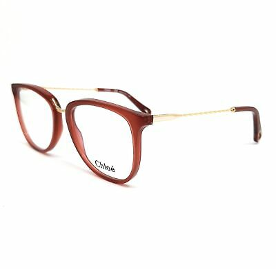 CHLOE Eyeglasses CE2731 613 Red Tea Cup Women 53x18x140