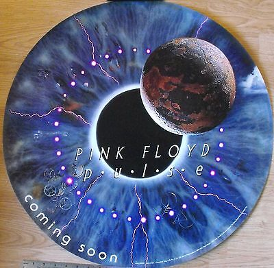 Pink Floyd Pulse Eyeball Promo Round Graphic Poster 24  X 24  Columbia Sony 1995