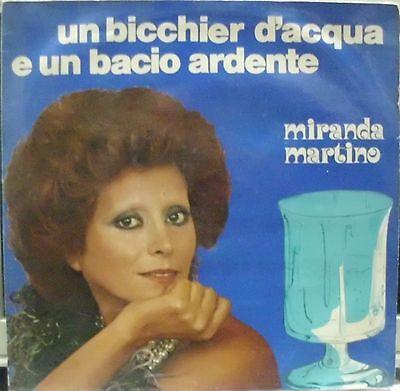 MIRANDA MARTINO UN BICCHIERE D'ACQUA E UN BACIO ARDENTE LP ITALY