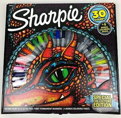 Sharpie 30 Count Set Collectors Edition Factory Sealed Brand New