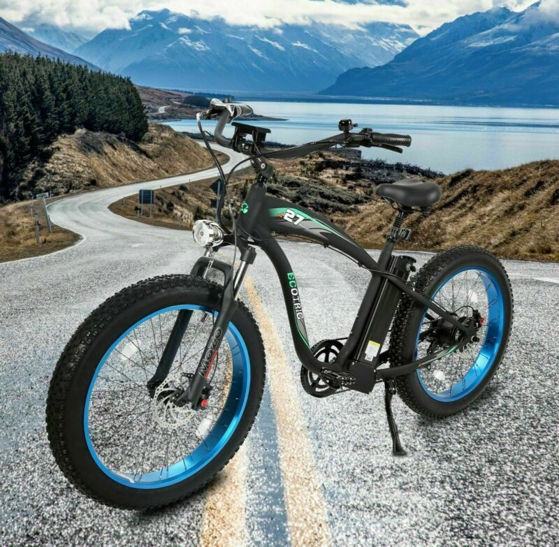 "26"" 750W 48V Mountain Electric Bike Bicycle EBike E-Bike Removable battery"