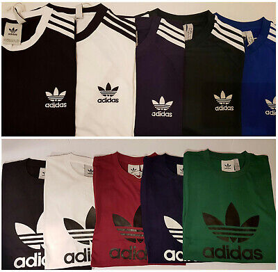 Adidas Originals Trefoil / California  Retro Mens Crew Neck Short Sleeve T-Shirt