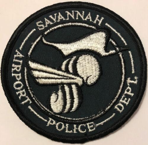 Savannah Georgia Airport Police Patch