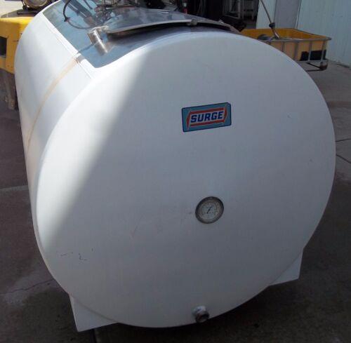 600 Gallon Surge With Agitation Stainless Bulk Milk Farm Tank Bb03354