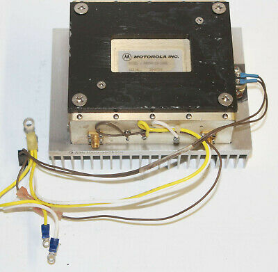 Motorola Pa850-19-100l Amplifier - Wireless Microwave Transmitter Amp Wheatsink