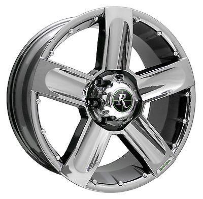 Remington Off-Road Wheels HIGH COUNTRY 20x9 Rims 6x135 25mm Bright Chrome *SALE*