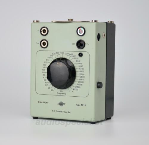 Bruel & Kjaer 1616 1/3 Octave Filter Set - TESTED