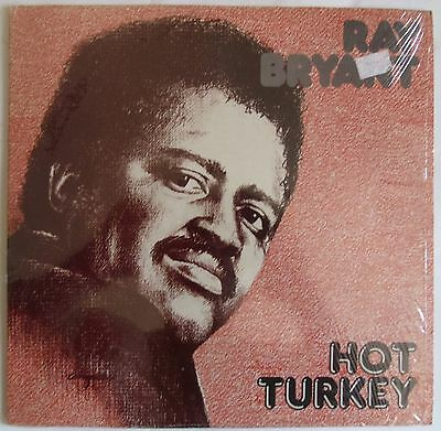 RAY BRYANT ~ HOT TURKEY ~ RARE jazz SHRINK vinyl LP ~ NEAR MINT / VERY CLEAN!