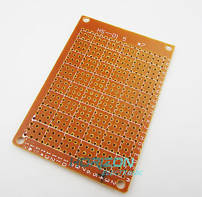 100pcs Diy Prototype Paper Pcb Universal Experiment Matrix Circuit Board 5x7cm