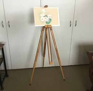 Easel, artist's, adjustable, collapsible. Grindelwald West Tamar Preview