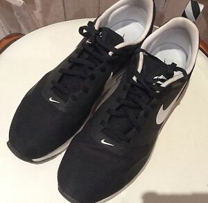 Nike Air Shoes- Black and White - Size 10US Birrong Bankstown Area Preview