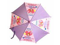 "/"" Disney Princess Kinderschirm Ø 70 cm // durchsic Prinzessin /"" Regenschirm"