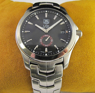 Tag Heuer Link Tiger Woods Men's Watch Limited Edition Stainless Steel WJ2110