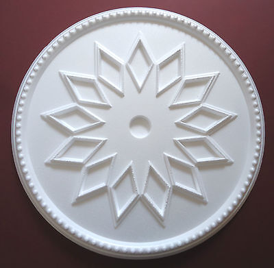 Ceiling Rose Size 460mm - 'Windsor' Lightweight Polystyrene Stunning Design