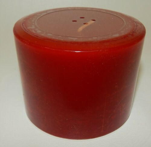 Longaberger Pint Size Pillar Cinnamon Clove Christmas Candle - Factory Sealed