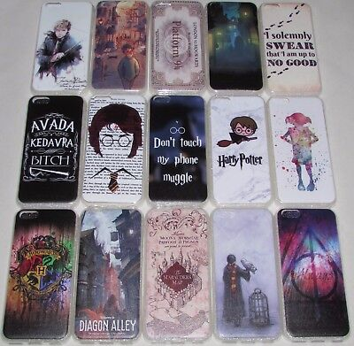Harry Potter Fantastic Beasts Case For iPhone 5C 6 6S 7 8 Plus Hogwarts Magic